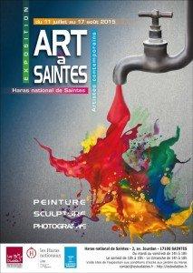 Affiche Art a Saintes